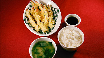Shrimp Tempura Meal