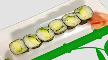 Avocado Small Roll -- Small Maki