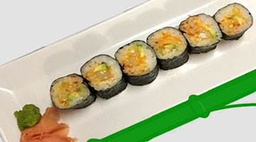 Spicy Scallop -- Small Maki