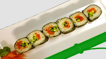 Smoked Salmon -- Small Maki
